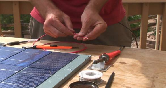 how to make electricity from solar energy