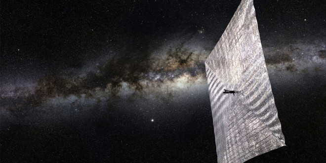 solar-powered spacecraft by Carl Sagan is getting its first test flight