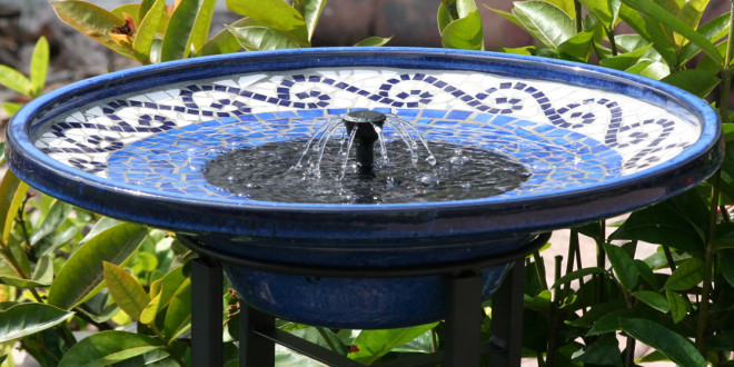 What Is a Solar Bird Bath Fountain?