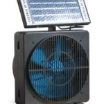Several Ways to Use a Solar Fan in Your Home