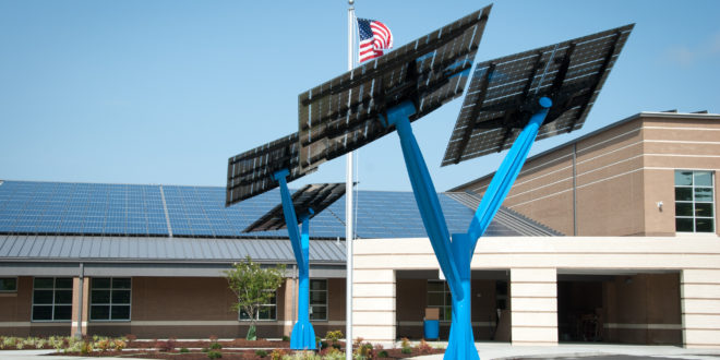 Solar Trees Powering The Park Of South Florida