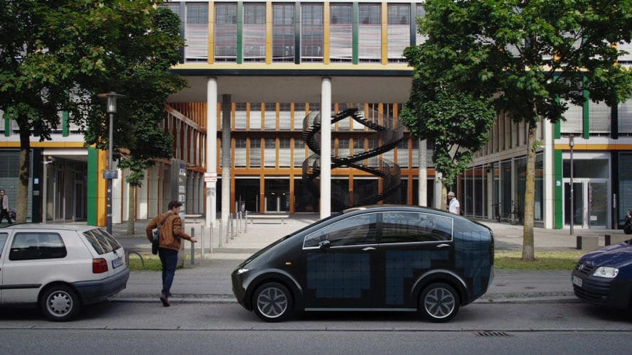 Sono Motors Introduces The SION Solar Powered Car